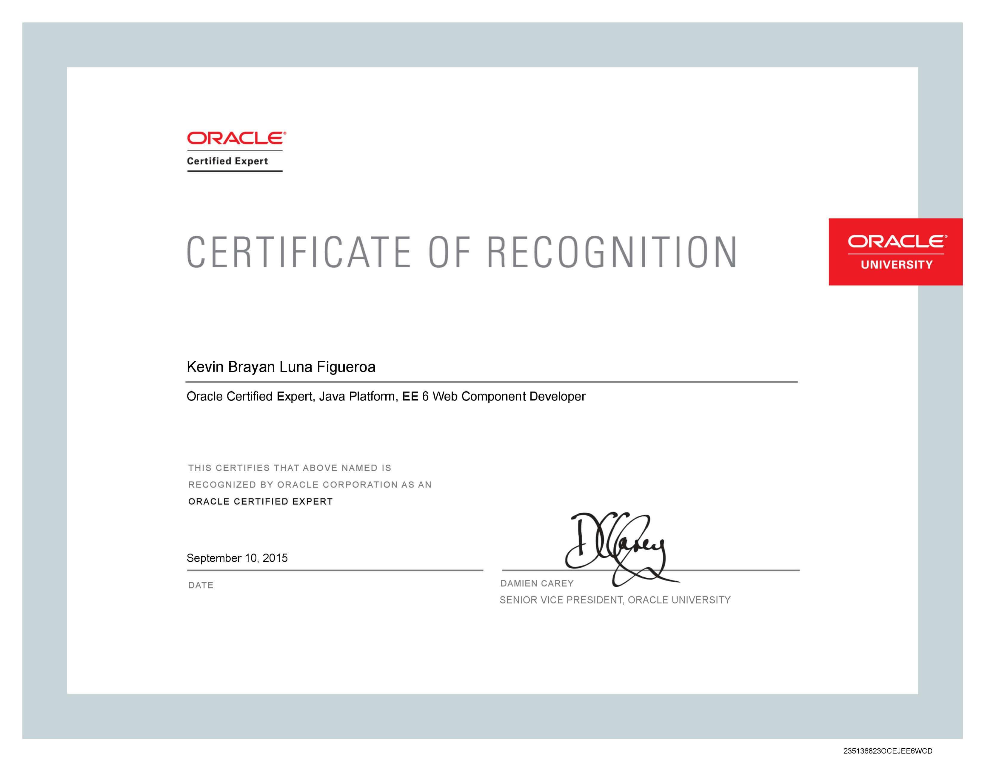 certificación de java ee web component developer